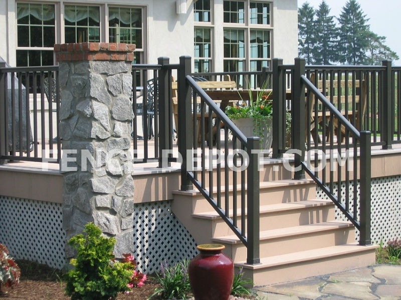Our Gallery of Aluminum Fence, Driveway Gates, Vinyl ...