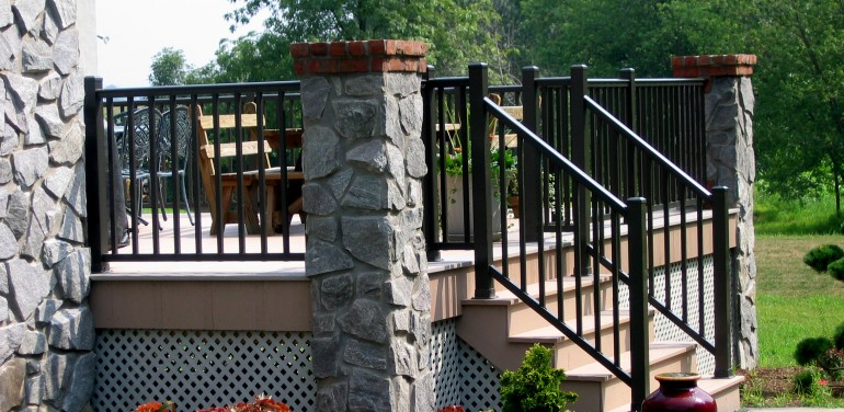outdoor handrails for concrete steps home best home