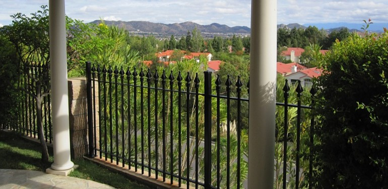 Aluminum Deck Railing Fencing Wrought Iron Fence