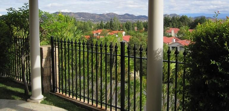 Wrought Iron Fence Aluminum Fence Steel Fence