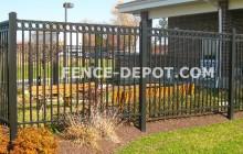 Aluminum Fence Images