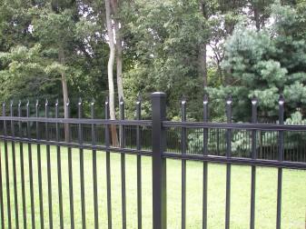 Bennington Residential Aluminum Fence