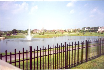 Berkshire Residential Wide Aluminum Fence