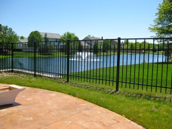 Essex Residential Aluminum Fence
