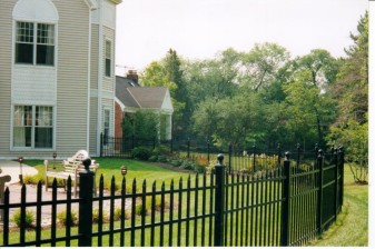 Newport Residential Aluminum Fence