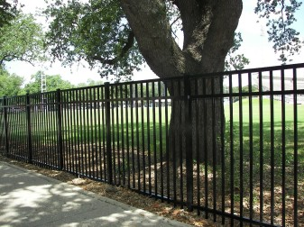 Storrs Commercial Aluminum Fence