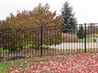 AFS Quick Ship Aluminum Fence Styles