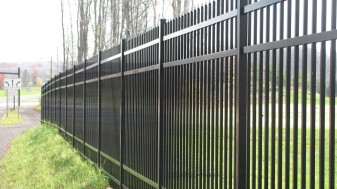 Bennington Commercial Aluminum Fence