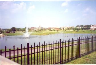 Berkshire Residential Wide Aluminum Fence