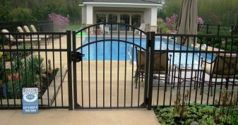 Specrail Commercial Aluminum Fence
