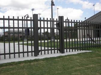 Specrail Industrial Aluminum Fencing