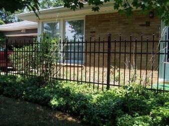 Berkshire Residential Aluminum Fence