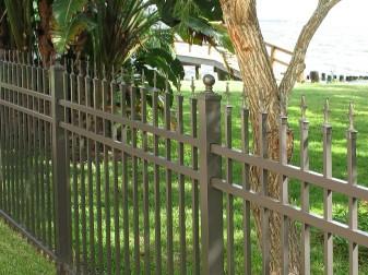 Aluminum Concealed Fastener Fence