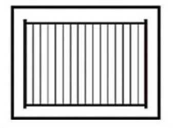 Solon Commercial Aluminum Fence