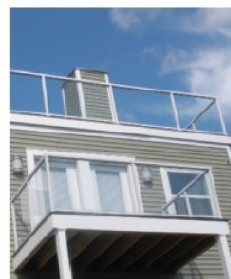 Canton Aluminum Deck Railing