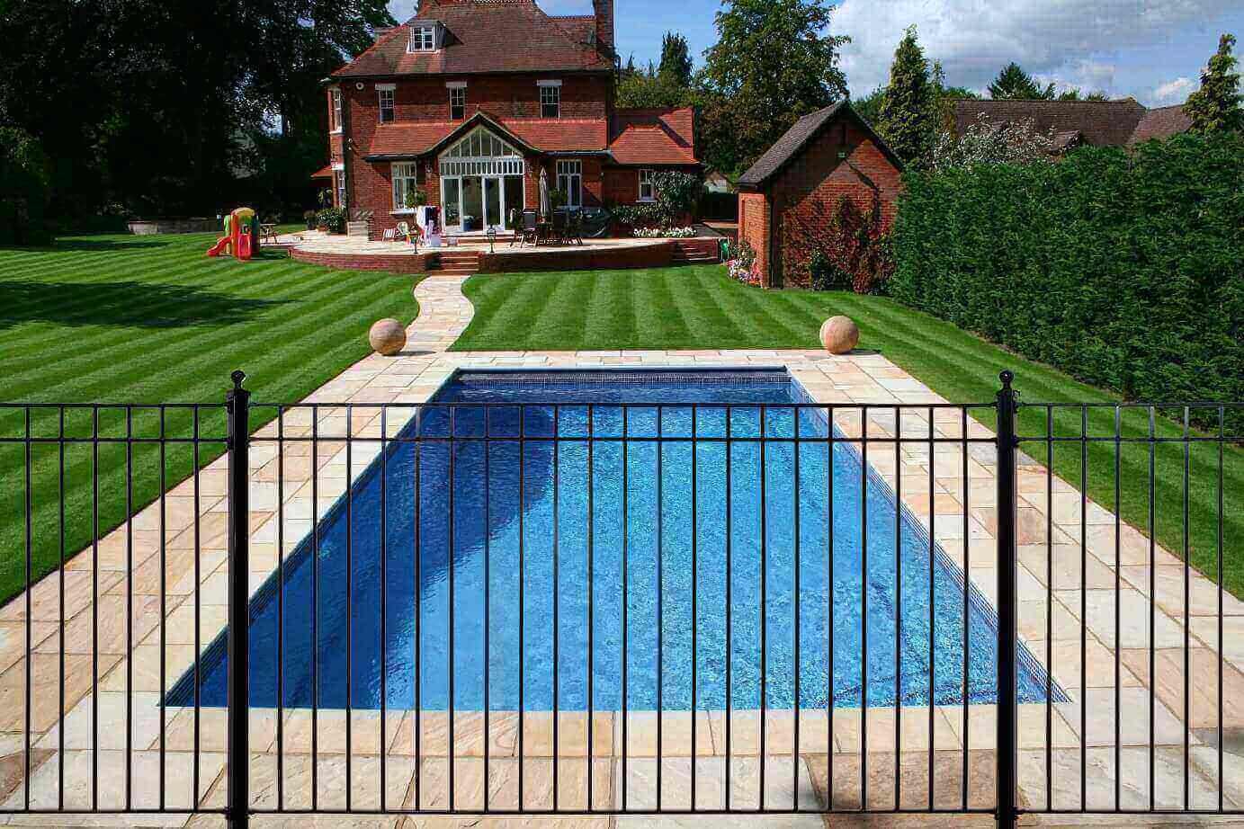 Wrought Iron Swimming Pool Fencing & Wrought Iron Gates |