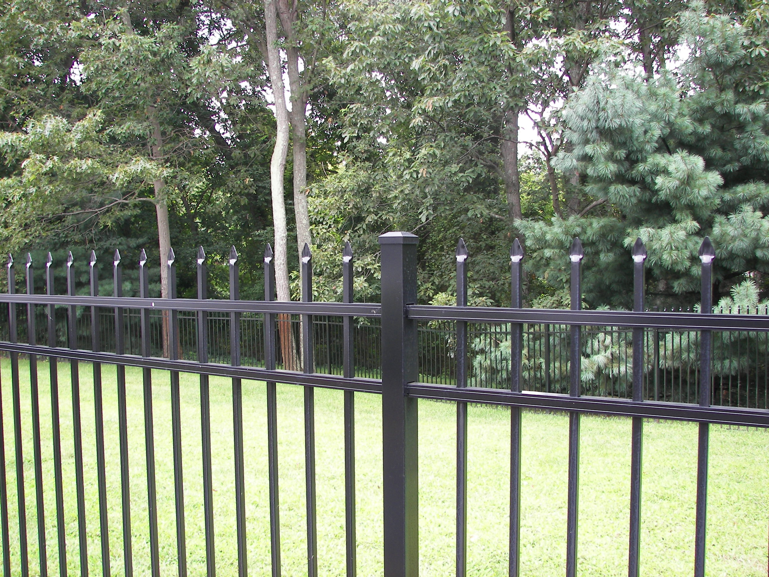 Aluminium Fence Panels : Specrail residential aluminum fence panels and gates