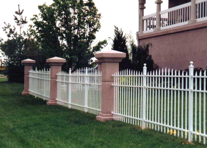 Specrail residential aluminum fence panels and gates