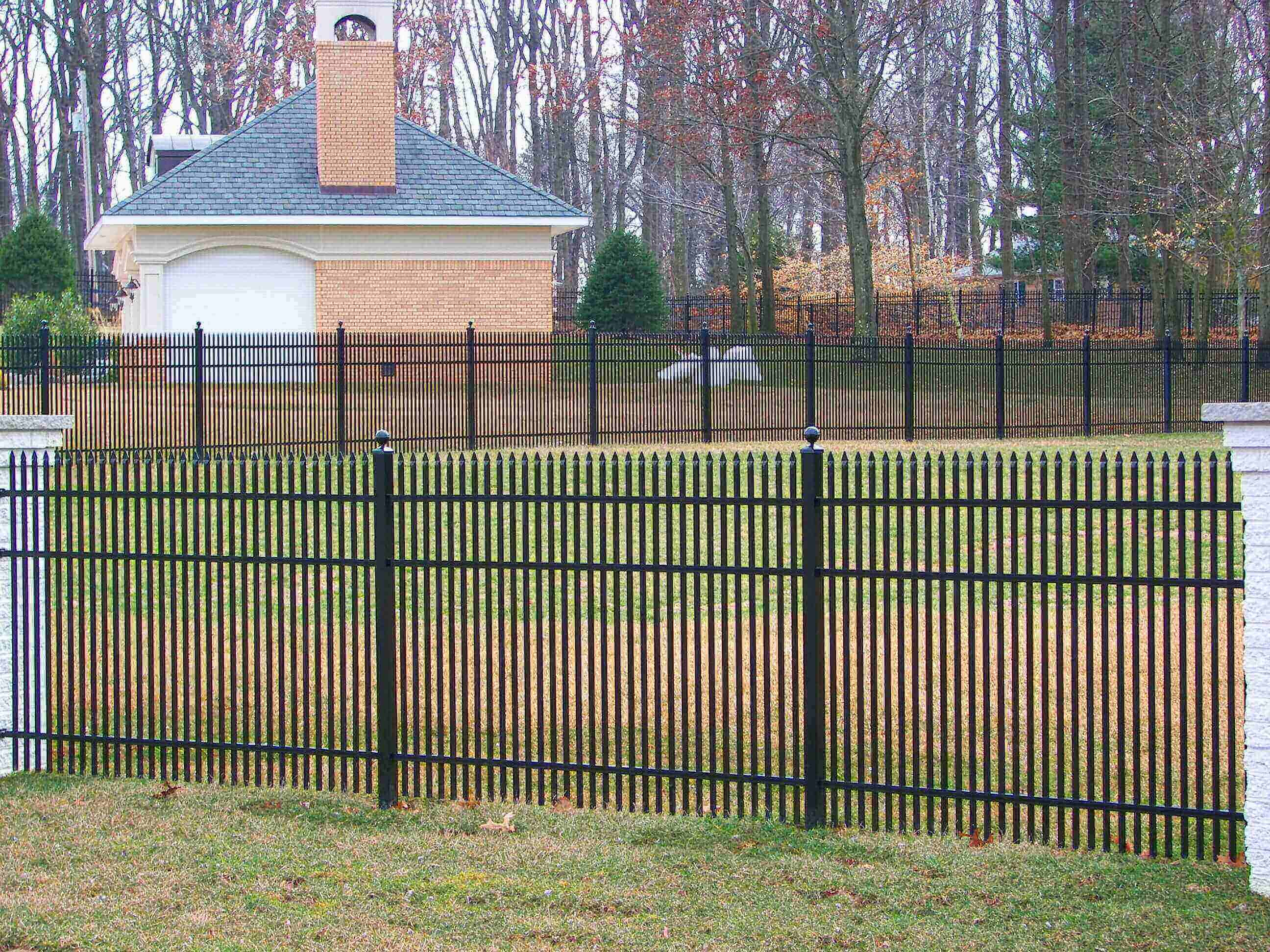 specrail residential aluminum fence railing products