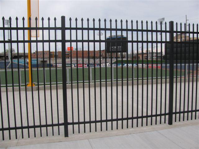 Classic Industrial Rackable Welded Steel Fence