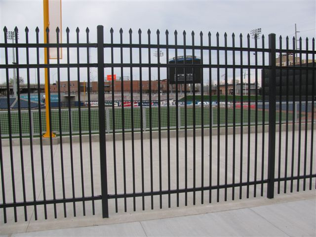 Steel ameristar montage ii industrial fence