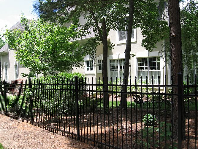 Decorative Steel Fencing steel ameristar montage residential fencing |