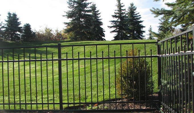 Specrail commercial aluminum fence and gates accessories