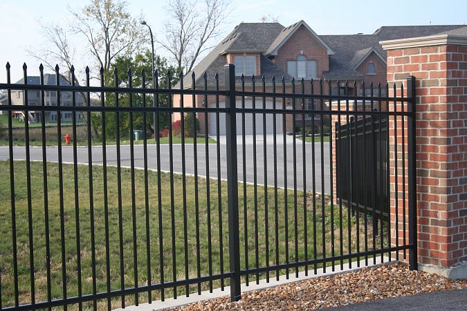 Ameristar welded steel fence panels depot