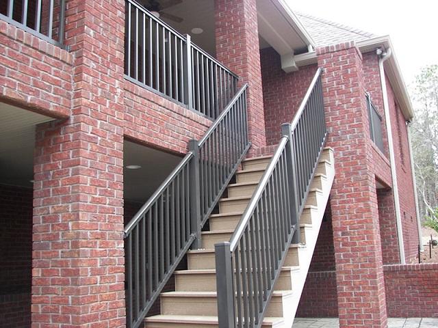Aluminum Deck Railing, Balcony Railing, Deck Railing |
