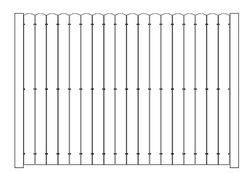 Aluminum Privacy Fencing Residential Security Fences