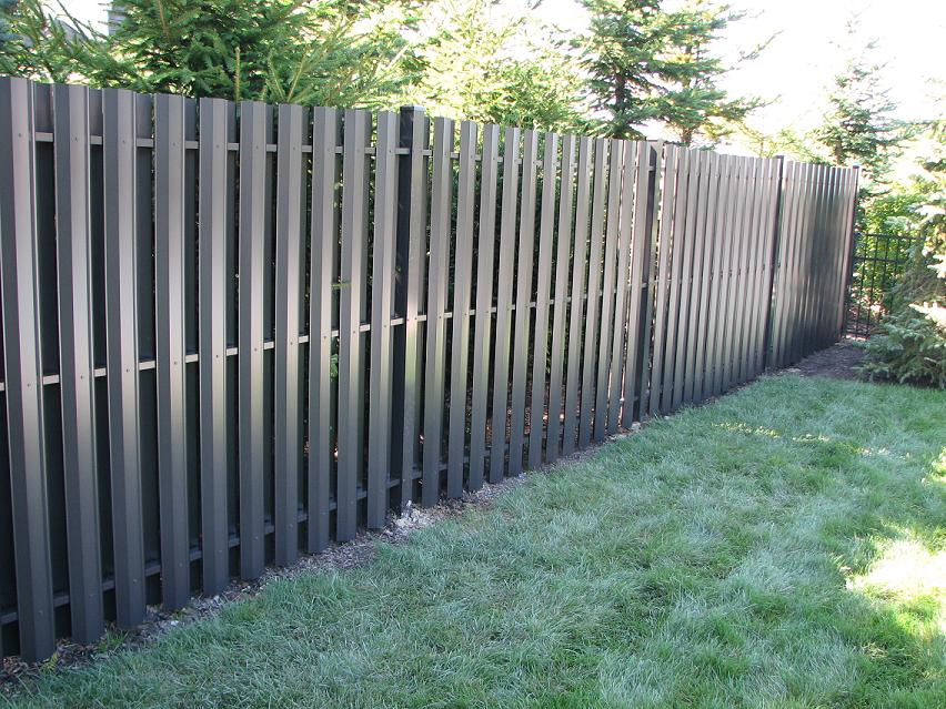 Aluminum privacy fence vinyl