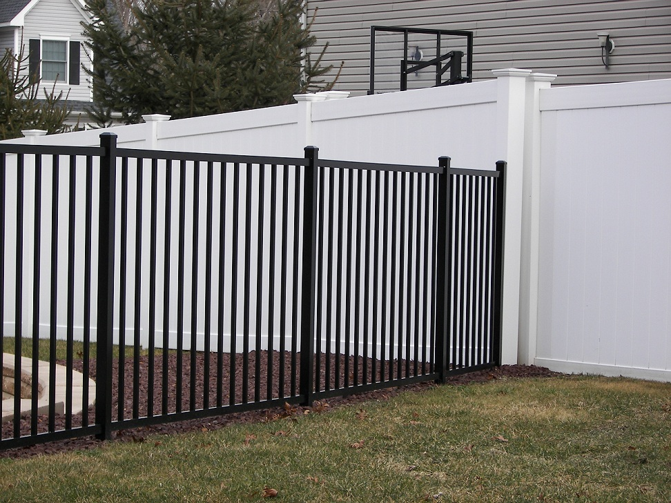 metal fence styles. 48 Inch High Derby Commercial Metal Fence Styles M