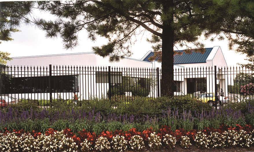 Commercial-Wrought-Iron-Fence