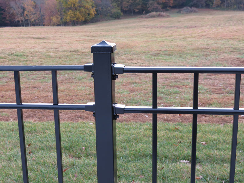 Beautiful Iron fencing panels .